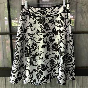 NWT Ann Taylor Floral Skirt